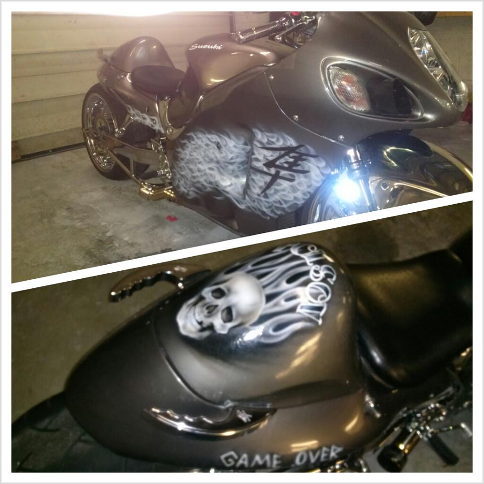 motorcycle paint